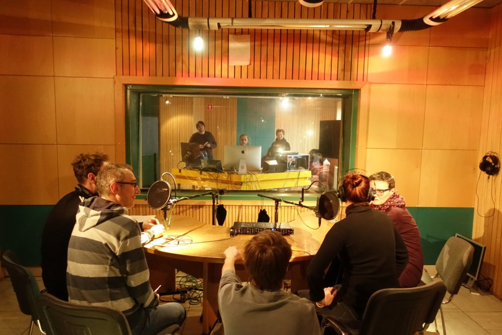 Live Discussion of the Project Partners Studio Radio Student